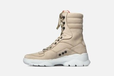 EZLAB Ankle Boots - Beige