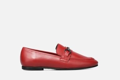 MERCURY Loafers - Red