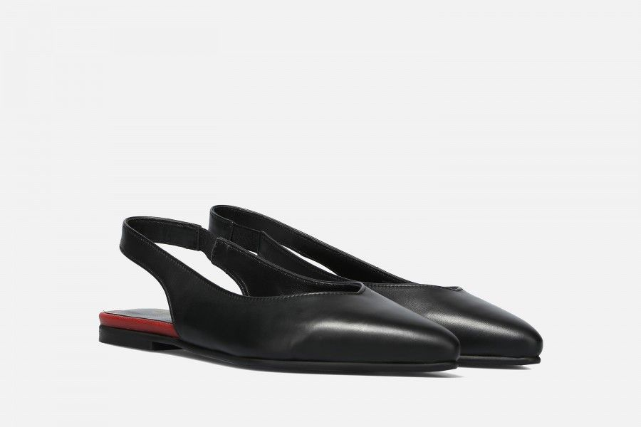 MEET Flat Shoes - Preto