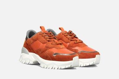 FIRE Sneakers - Laranja