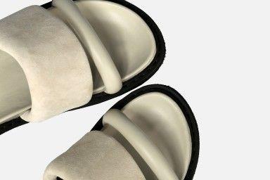 CAPRI Flat Sandals - Beige