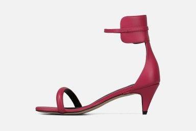 SAINTIX Mid Heel Sandals - Rosa