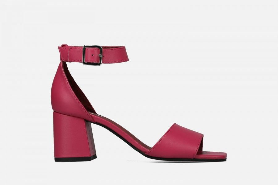 RECIFE Mid Heel Sandals - Pink