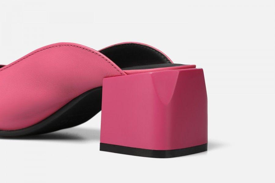 PHI PHI Mid Heel Sandals - Rosa