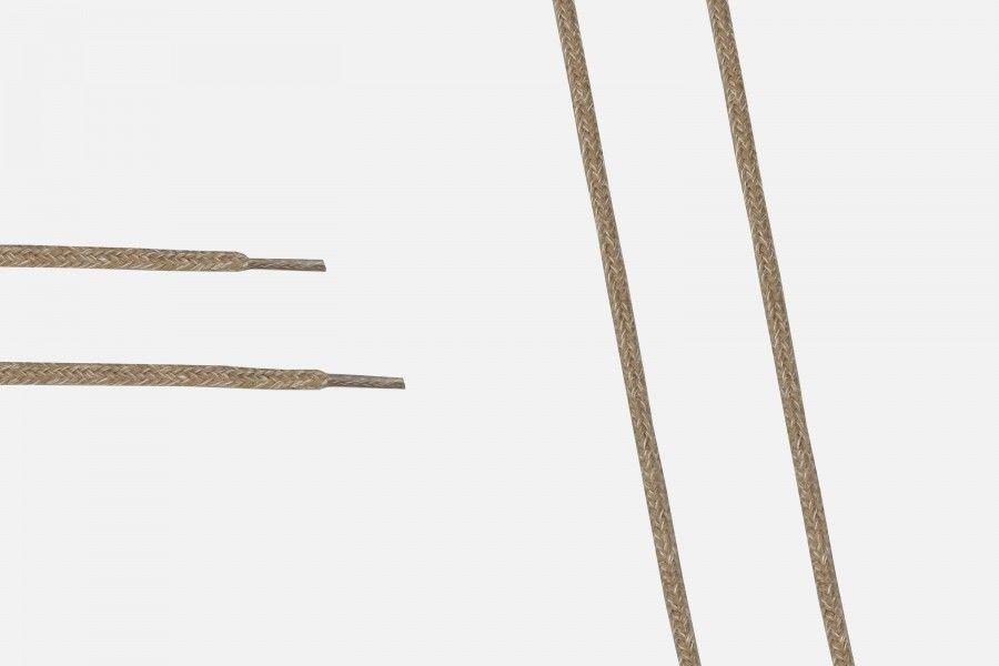 COSTUMIZED Shoe lace - Bege