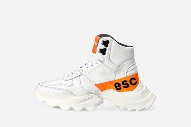 SPECTRUM Platform Boots - White