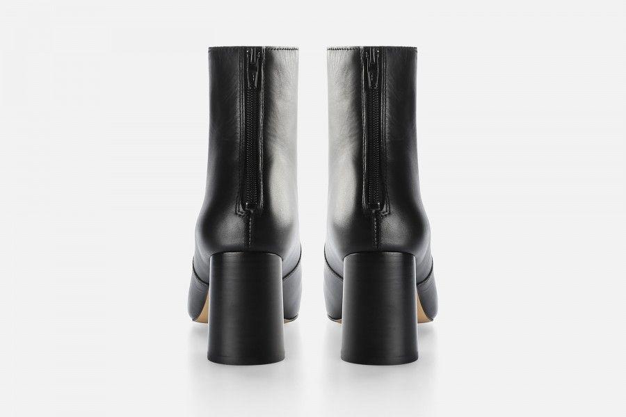 LUNA ANKLE BOOT Mid Heel Boots - Black