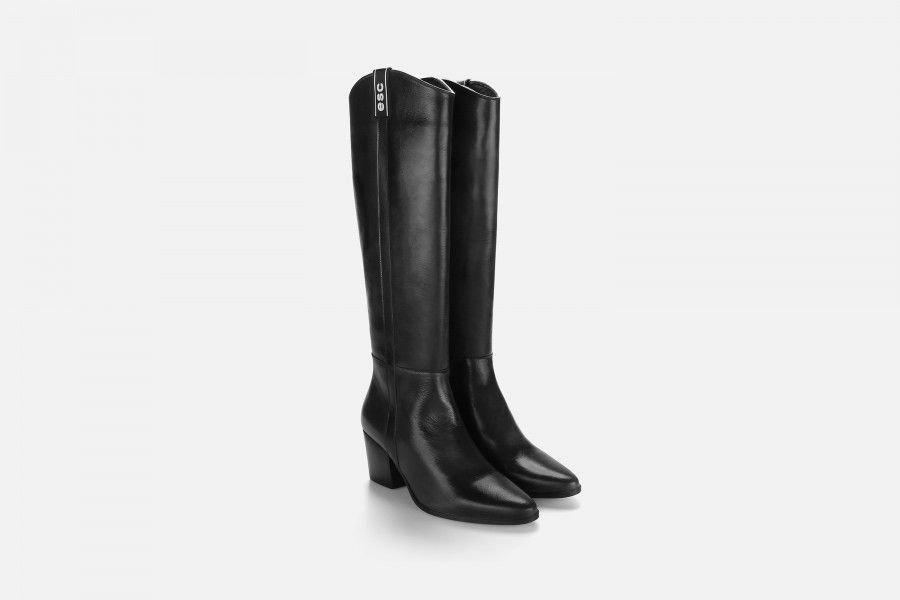AUSTIN Knee-Length Boots - Black