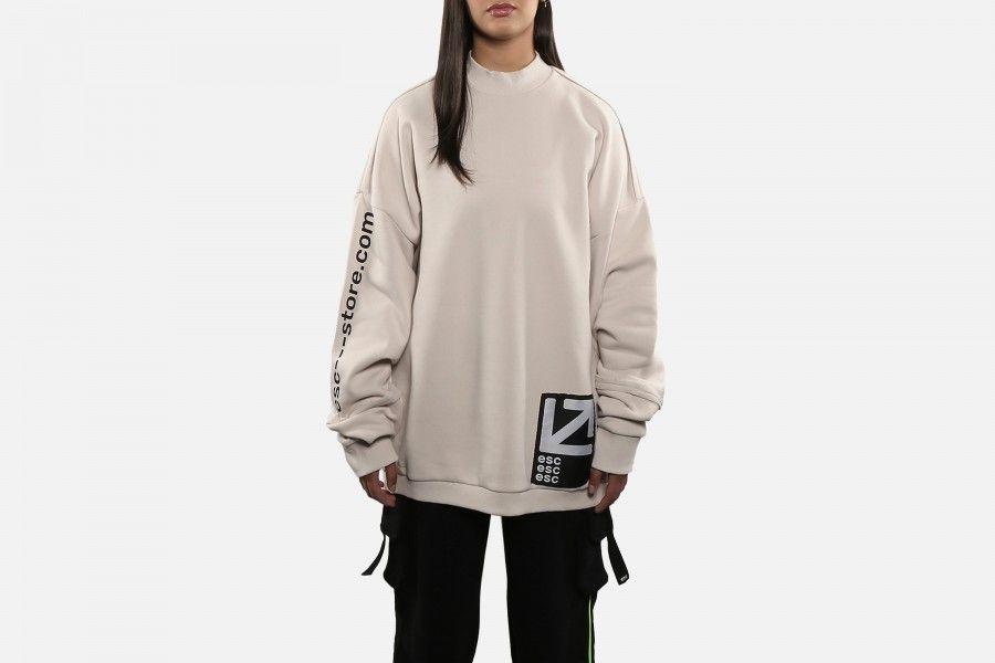 ESC LONG LINE Sweaters - Beige