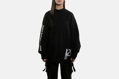 ESC LONG LINE Sweaters - Black