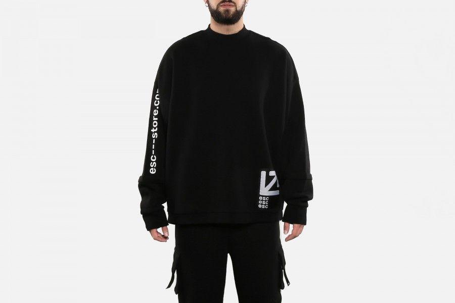 ESC LONG LINE Sweaters - Preto