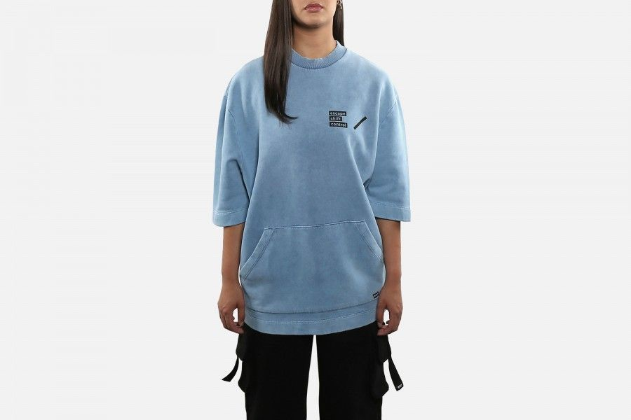 ESC SHORT SLEEVE Sweaters - Blue