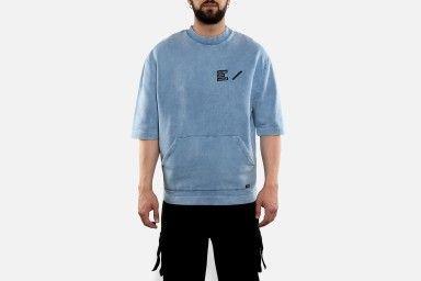 ESC SHORT SLEEVE Sweaters - Azul