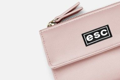 LOUISE Cross Clutch - Pink