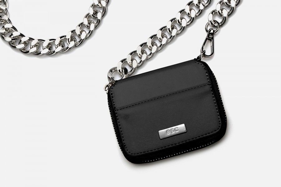 GRETA Cross Clutch - Black