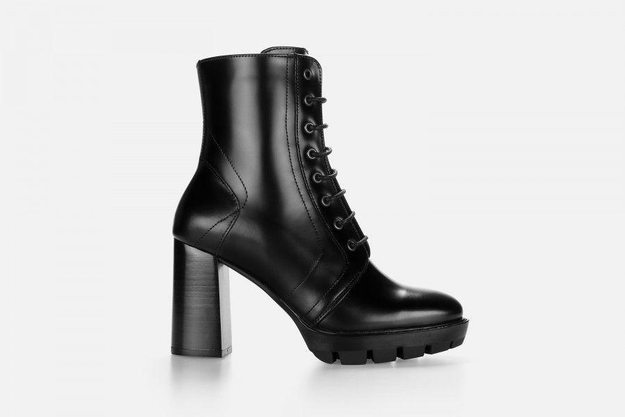 GRACA High Heel Boots - Black