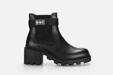 ARIEL Ankle Boots - Black