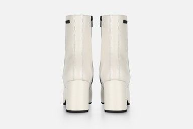 JAWNY Mid Heel Boots - Bege