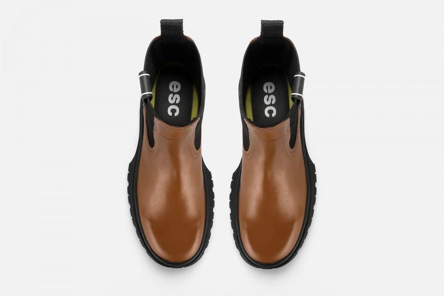 SAPO Ankle Boots - Cognac