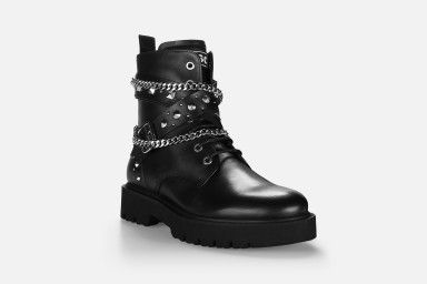 METAL Boots - Black