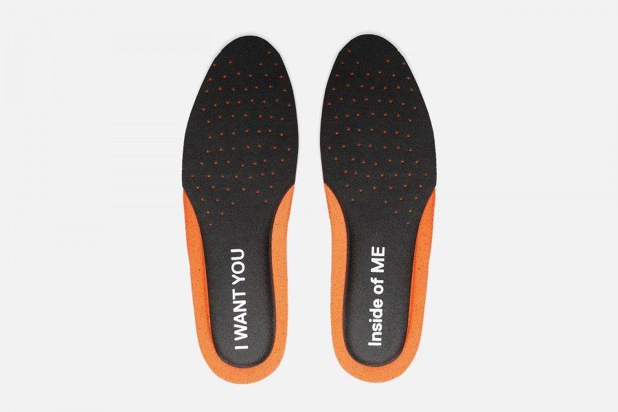 YOU&ME Insoles - Black & Orange