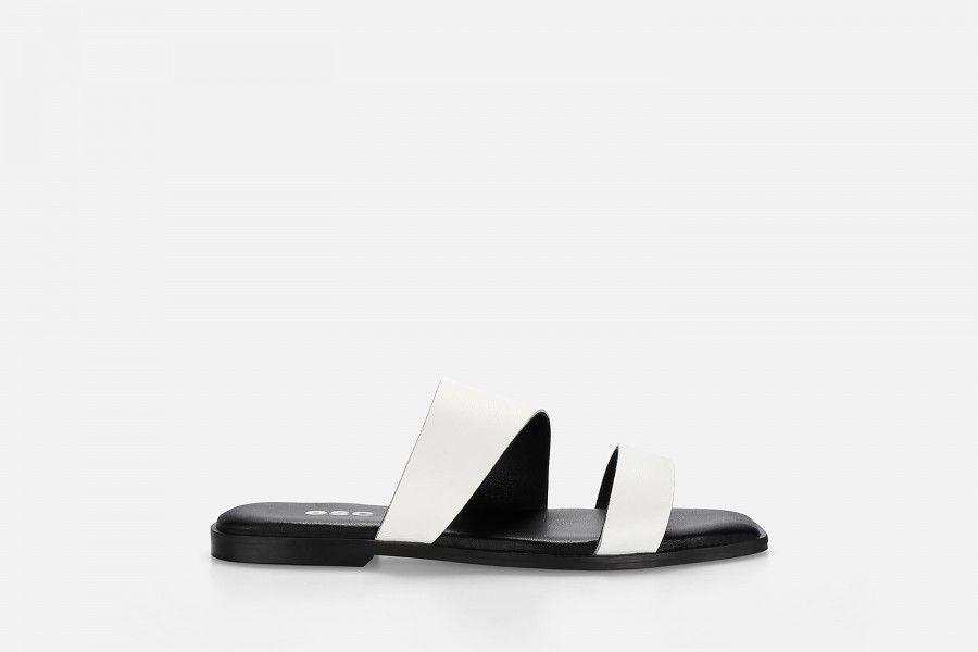 BRUNI Flat Sandals - White