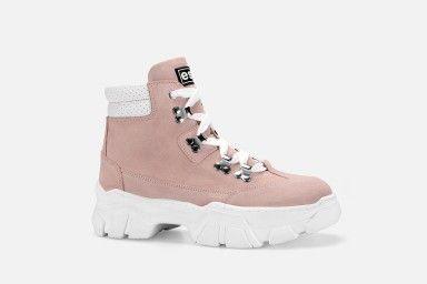 KROL Boots - Pink Suede
