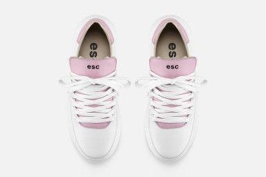 TROPHY Sneakers - Branco/Rosa