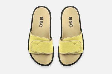CUBA Flat Sandals - Yellow