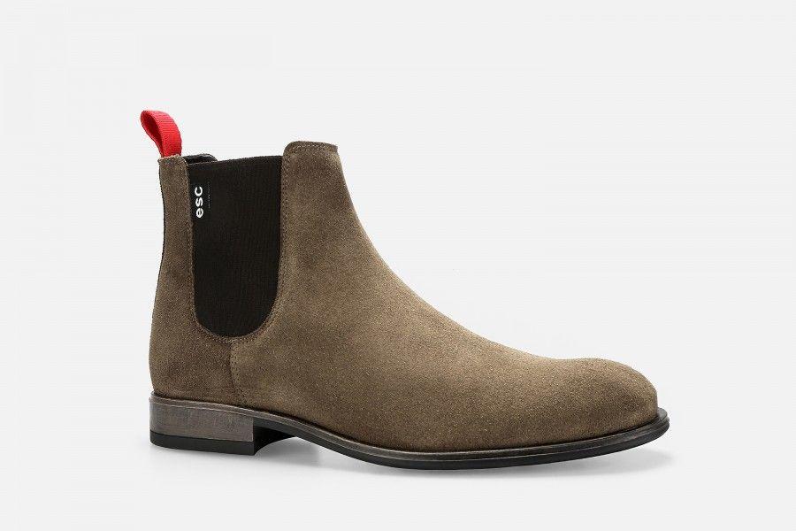 ACRA Boots - Cognac Suede