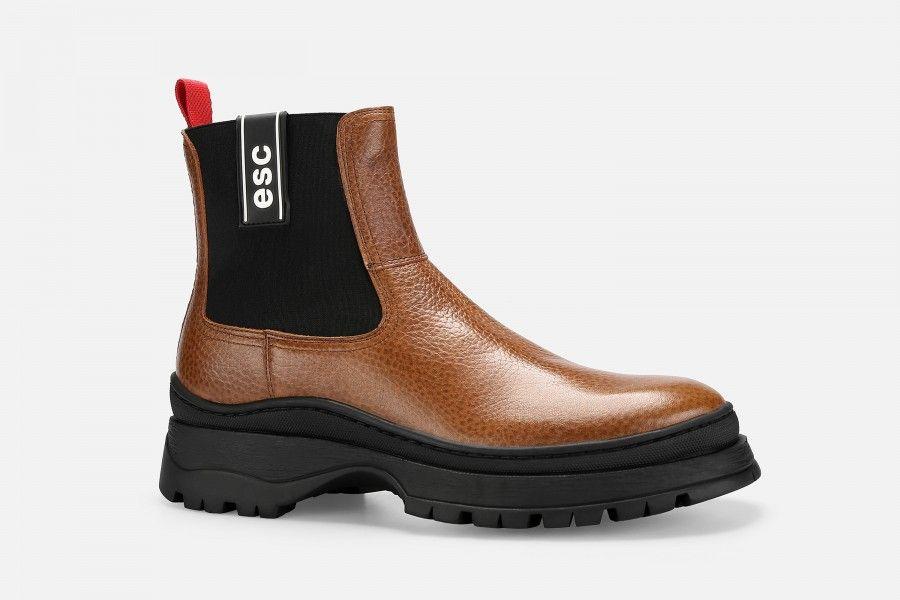 SAPOR Boots - Cognac