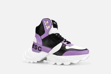 SPECTRUM Platform Boots - Lilac