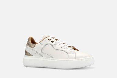 BOTUL Sneakers - Branco/Dourado