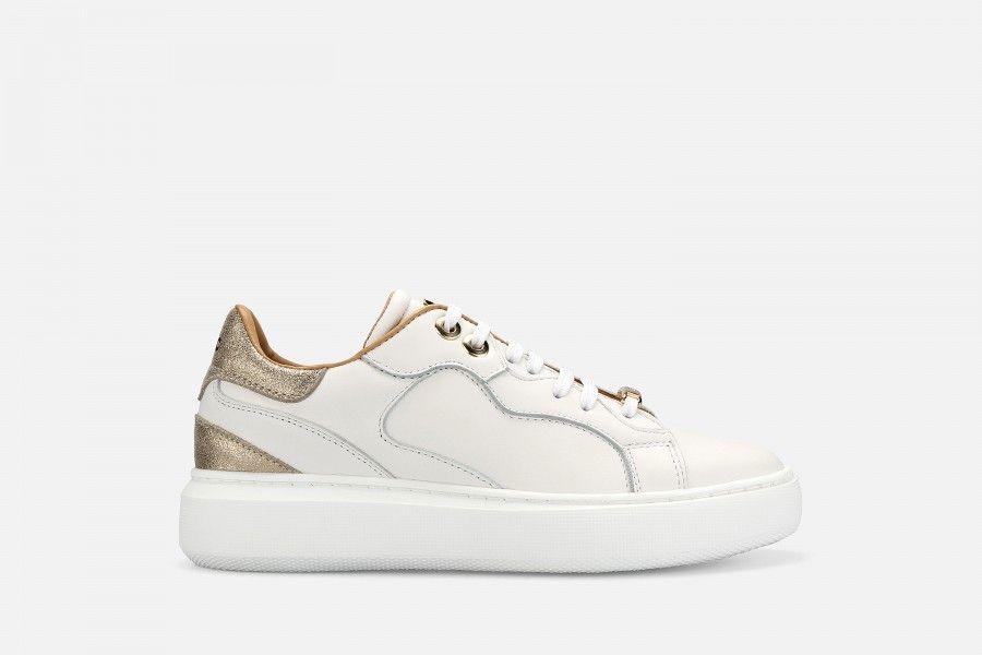 BOTUL Sneakers - White/Gold