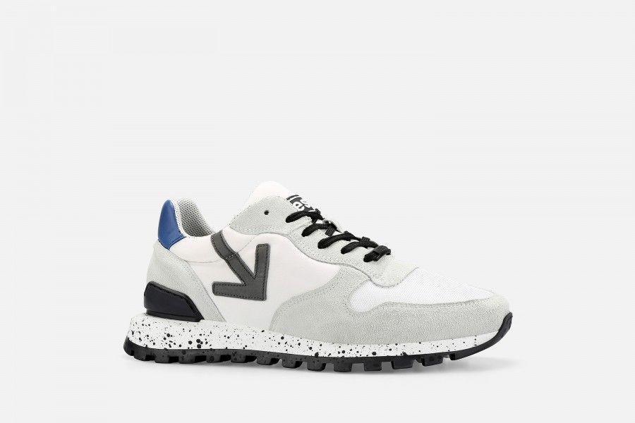VANAR Sneakers - White & Blue