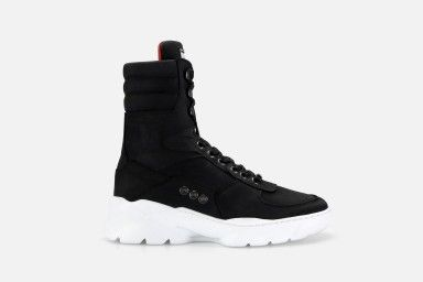 HARDLAB Boots - Black Suede