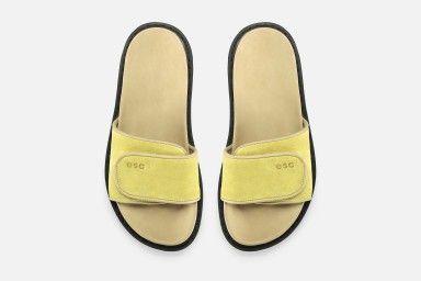 CUBA Flat Sandals - Amarelo