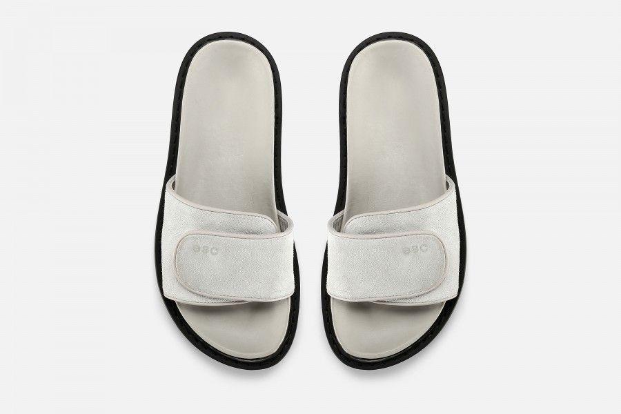 CUBA Flat Sandals - Branco