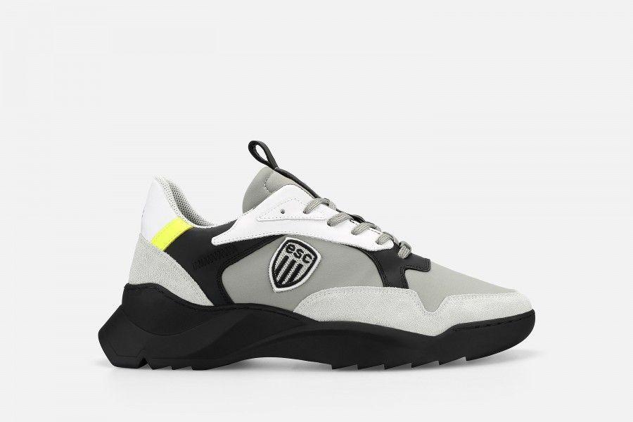 SOCCER Sneakers - Beije/Grey