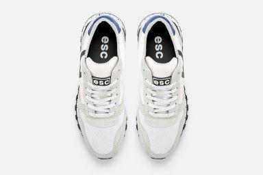 VANAR Sneakers - Branco & Azul