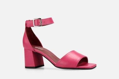 RECIFE Mid Heel Sandals - Rosa