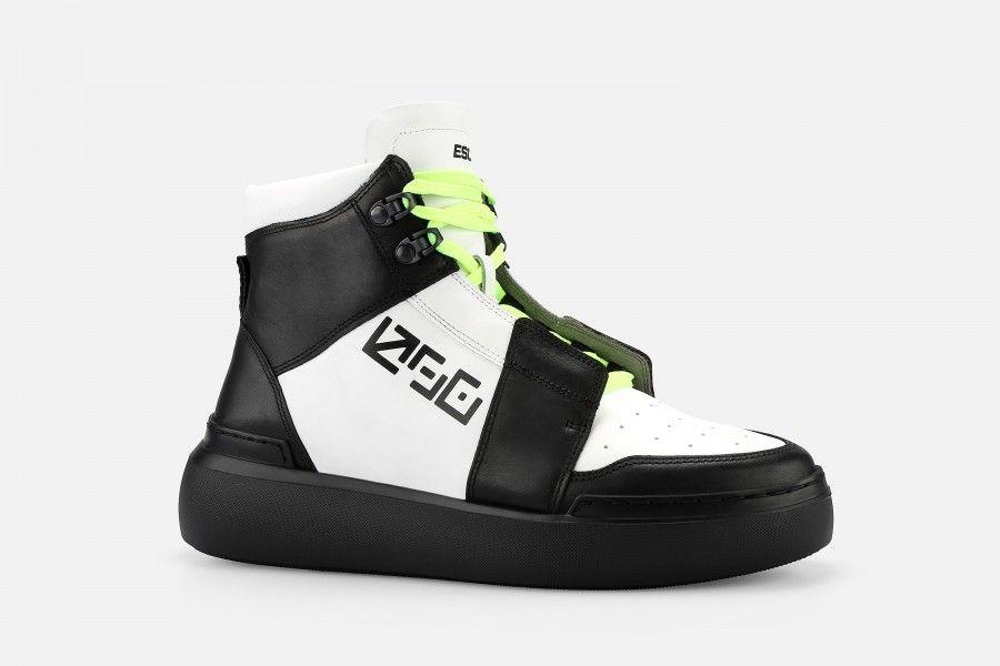 SNOOP Sneakers - Black/White