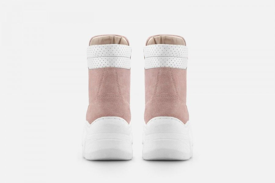 KROL Boots - Rosa Suede