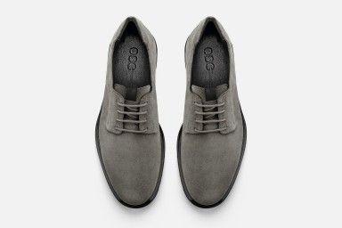 FRANK Shoes - Grey Suede