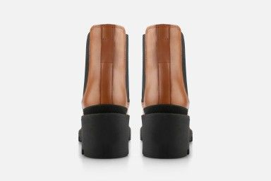 ARIELA Ankle Boots - Cognac