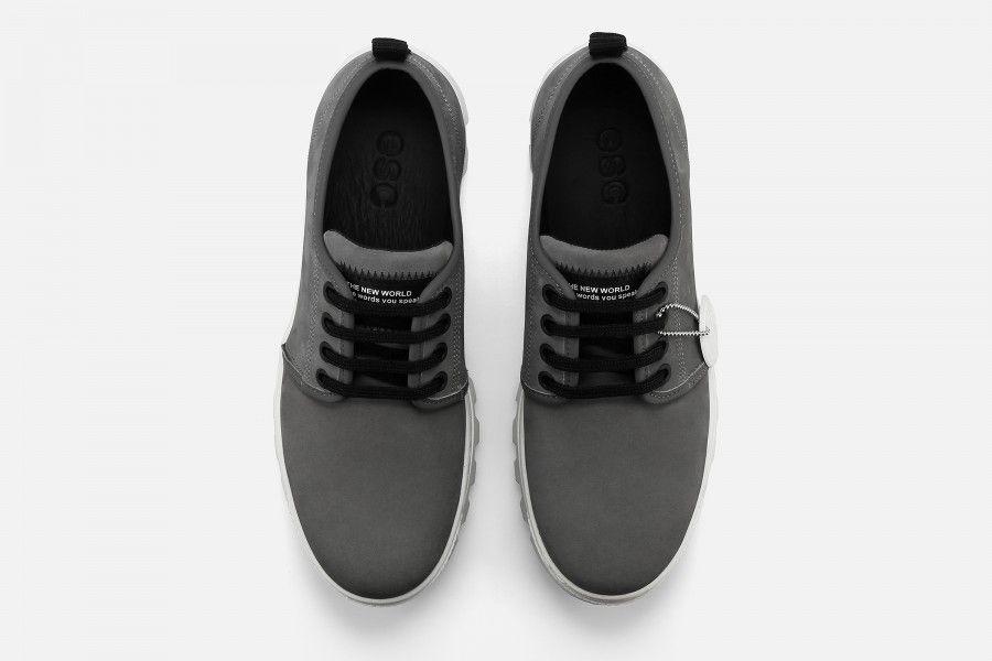 JOAN Shoes - Grey Suede