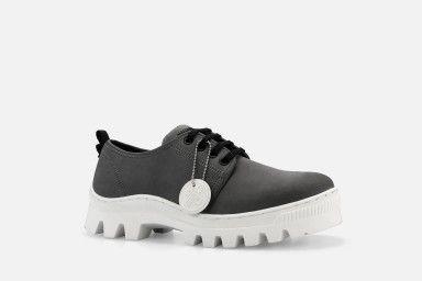 JOAN Shoes - Cinza Suede