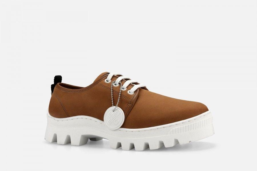 JOAN Shoes - Cognac Suede