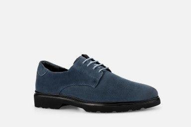 FRANK Shoes - Blue Suede
