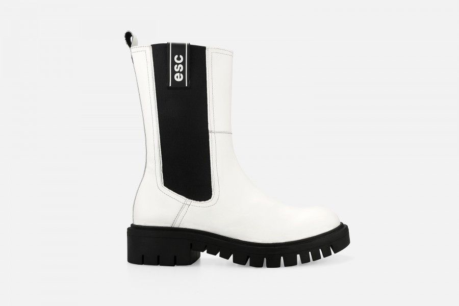 ANASTASIA Boots - Branco